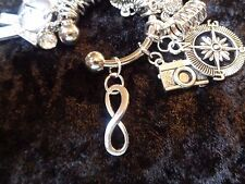 It isn't a diet, it is a lifestyle! Infinity Charm for Weight Watchers Keychain!