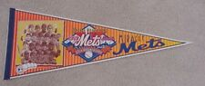 1969 NEW YORK NY MIRACLE METS CHAMPS 25TH ANNIVERSARY PENNANT LIMITED EDITION