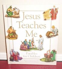 Jesus Teaches Me Parables for Children New Testament by Wach 1STED LDS Mormon HB