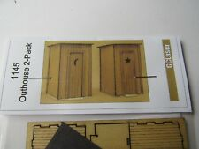 GC Laser HO Scale Out House Kit #1145  2 pack  Bob The Train Guy
