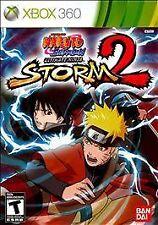 BRAND NEW Naruto Shippuden: Ultimate Ninja Storm 2 (Microsoft Xbox 360, 2010)