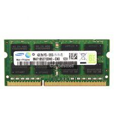 New Samsung 4GB PC3-12800 DDR3-1600mhz 204pin pc12800 1.5V Laptop Memory Upgrade