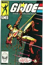 GI Joe 21 1st App Storm Shadow / Silent Issue