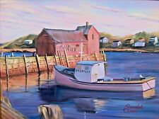 Printable Wall Art Print New England Fishing Boat Decor Instant Download