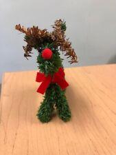 Evergreen Reindeer Decor / Green (4.25 Each)