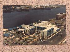 POSTCARD UNUSED FLORIDA, JACKSONVILLE-MARINA HOTEL (OLD SHERATON) ST JOHNS PLACE