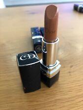 Dior lipstick rouge shade 513 Bright Amber