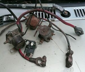 Ford Falcon Starter Solenoids and Other Parts