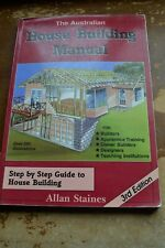 the australian house building manual by allan staines 3rd edition.