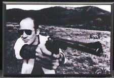 "Hunter S. Thompson B & W Photo 2"" X 3"" Fridge / Locker Magnet. Gonzo!"