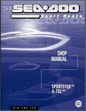 2003 Sea-Doo Sportster 4-TEC Jet Boat Service Repair Shop Manual CD