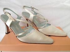 Strappy/Ankle Straps Pure & Precious Satin Bridal Shoes
