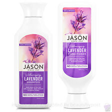 Jason Organic Volumising LAVENDER Shampoo & Conditioner for fine hair Duo pack