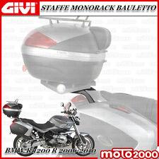 PIASTRA PER HONDA FORESIGHT 250 2006 MOTO E SCOOTER NERO TECH CON CATADRIOTTI FUME KIT BAULETTO BAULE VALIGIA MONOLOCK B37NT GIVI STAFFE SR140