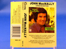 JOHN MacNALLY - Canadian Edition - NEAR MINT 1988 CASSETTE - 10 Irish Folk Hits!
