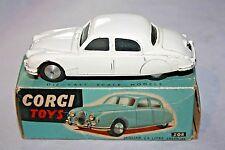 Corgi #208 Jaguar 2.4 litre Saloon, Very Nice Condition in Original Box