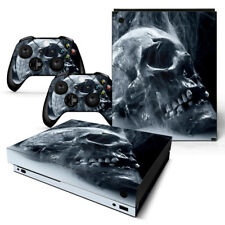 Xbox One X Skin Console & 2 Controllers Skull Decal Vinyl Wrap