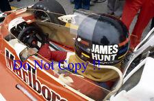 James Hunt McLaren M23 Monaco Grand Prix 1976 Photograph 1