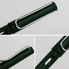 Palladium Trim Green Fountain Pen Fine Nib Smooth Writing Ink Best Present