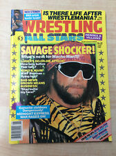 Wrestling All Stars Heroes & villains No. 29 June 1989 Magazine Macho Man cover