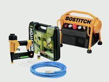 Bostitch Compresor & 2 en 1 Kit de Brad/Grapadora RRP £ 620