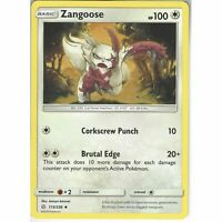 173/236 Zangoose | Uncommon | SM12 Cosmic Eclipse Pokemon Trading Card Game TCG