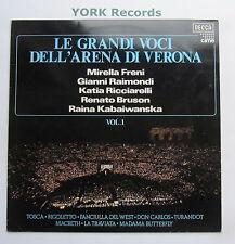SDD 570 - LE GRANDI VOCI DELL'ARENA DI VERONA Vol 1 - Various - Ex Con LP Record