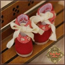 HH0035A Ten Ping Red Doll Shoes Ruby Red Galleria Shoes Fits Ten Ping Gigi