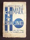 De Marx à Staline