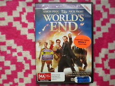 The World's End DVD R2,4 #6684
