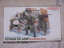 Figurines DRAGON 1/35ème GERMAN 6th  ARMY (STALINGRAD 1942-43)