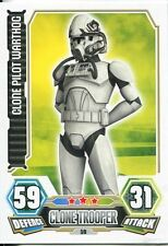 Star Wars Force Attax Series 3 Card #59 Clone Pilot Warthog