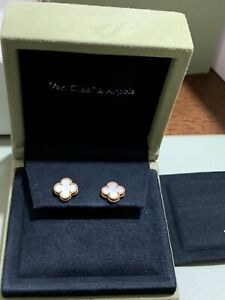 Van Cleef & Arpels Sweet Alhambra Earnings/Earstuds Yellow gold, Mother-of-pearl