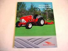 McCormick GX & GXH 38-50 HP Tractor Color Sheet 2 Page                        b1