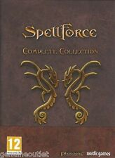 SPELLFORCE COMPLETE COLLECTION RPG and RTS ALL 6 GAMES for PC SEALED NEW