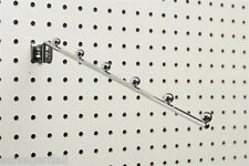 Pegboard Slatwall 6 Ball Waterfall Clothes Hanger Clothing Display Lot Of 25