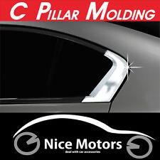 C Pillar Chrome Molding Cover 2Pcs 1Set (Fit: Honda Civic 2012 2013 2014+)