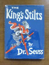 KING OF STILTS  by  dr. Seuss - HCDJ - 295/295 jacket  1939 VG