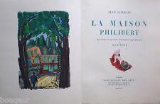 Jean LORRAIN - La Maison Philibert - 88 Pochoirs de DIGNIMONT - 1/300 sur Rives