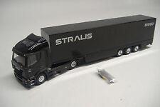 Liontoys metal modelo Iveco Stralis 2 trailer 3 trailer hummer 1:50 nuevo embalaje original