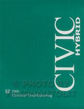 NEW 2009 Honda Civic HYBRID Electrical Troubleshooting Manual Wiring Diagram OEM