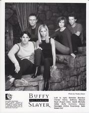 "N.Brendon, A.Stewart, S.Gellar in  ""Buffy The Vampire Slayer"" Orig. TV Still"