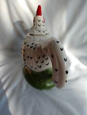 Teapot Ceramic Rooster Chicken