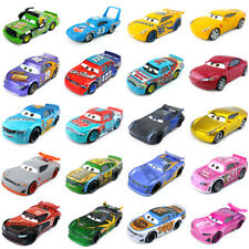 Disney Pixar Cars 3 King McQueen Chick Hicks Fillmore 1:55 Toy Car Model Gift