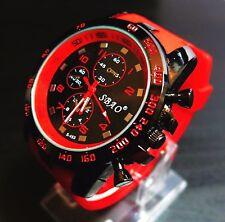 New Stainless Steel Luxury Sport Analog Quartz Modern Men's Fashion Wrist Watch