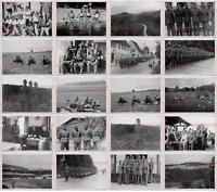 77 Stücke Altes Foto Zweiter Weltkrieg Deutschland Heer Soldat Panzer Armee GnD