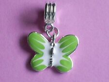 Butterfly Enamel Silver Plated Costume Jewellery