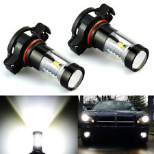 JDM ASTAR 2x 1100lm 5202 5201 Super Bright Xenon White LED Bulbs DRL Fog Lights