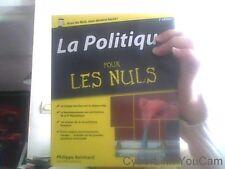 La politique pour les nuls 2eme edition- par Philippe Reinhard