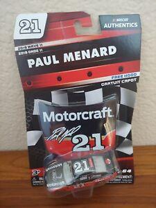 2019 Wave 11 Paul Menard Motorcraft Throwback 1/64 NASCAR Authentics Diecast